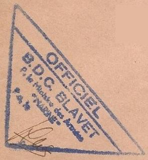 * BLAVET (1961/1986) * 68-0310