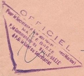 * MAILLÉ-BRÉZÉ (1957/1988) * 68-0910