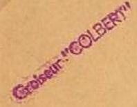 * COLBERT (1959/1992) * 69-0112