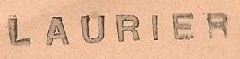 * LAURIER (1954/1980) * 69-0510