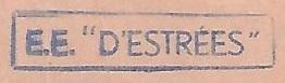 * D'ESTRÉES (1957/1985) * 70-0210