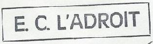 * L'ADROIT (1958/1980) * 71-05_14