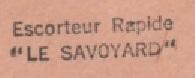 * LE SAVOYARD (1957/1980) * 72-01_11