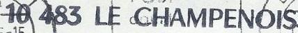 * LE CHAMPENOIS (1957/1975) * 75-06_12