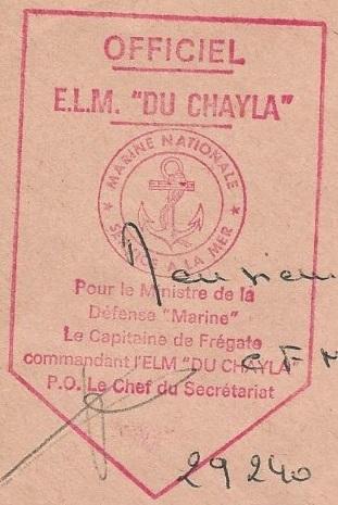* DU CHAYLA (1957/1991) * 75-0910