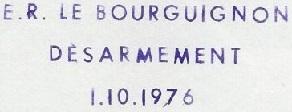 * LE BOURGUIGNON (1957/1976) * 76-1013