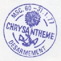 * CHRYSANTHÈME (1954/1977) * 77-0112