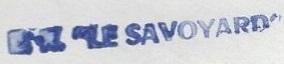 * LE SAVOYARD (1957/1980) * 77-0613