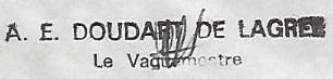 * DOUDART DE LAGRÉE (1963/1991) * 78-0211