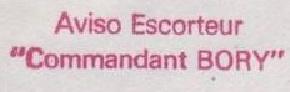 * COMMANDANT BORY (1964/1996) * 79-06_12