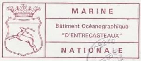 * D'ENTRECASTEAUX (1971/2008) * 79-07_15