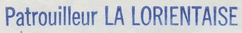 * LA LORIENTAISE (1954/1986) * 80-11_10