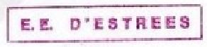 * D'ESTRÉES (1957/1985) * 81-05_13