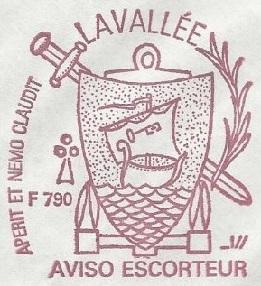 * LIEUTENANT DE VAISSEAU LAVALLÉE  (1980/2018) * 81-0812