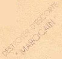 * MAROCAIN (1944/1964) * 817_0012