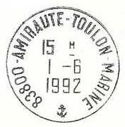 TOULON - AMIRAUTE - TOULON - MARINE 819_0010