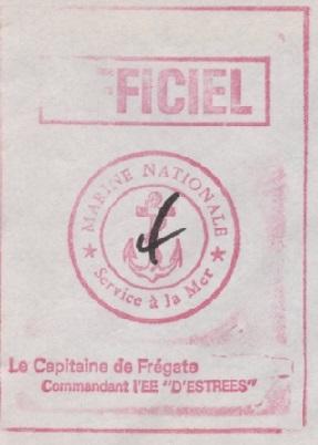 * D'ESTRÉES (1957/1985) * 82-0212