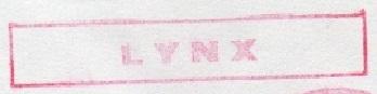 * LYNX (1982/....) * 82-1110