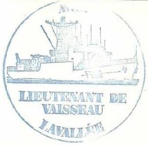 * LIEUTENANT DE VAISSEAU LAVALLÉE  (1980/2018) * 83-0411