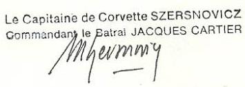 * JACQUES CARTIER (1983/2013) * 83-0710
