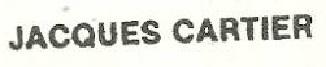 * JACQUES CARTIER (1983/2013) * 83-07_11