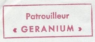 * GÉRANIUM (1955/1987) * 83-09_14