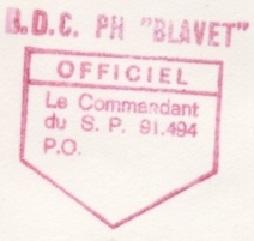 * BLAVET (1961/1986) * 83-1012