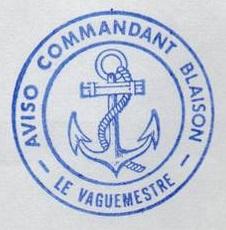 * COMMANDANT BLAISON (1982/....) * 84-11_10