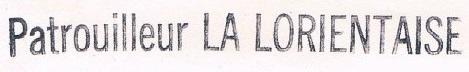 * LA LORIENTAISE (1954/1986) * 85-0411