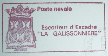 * LA GALISSONNIERE (1962/1990) * 85-0512