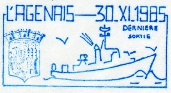 * L'AGENAIS (1958/1985) * 85-1112