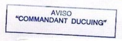 * COMMANDANT DUCUING (1983/....) * 85-12_12