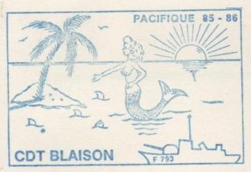 * COMMANDANT BLAISON (1982/....) * 86-01_10