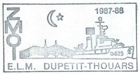 * DUPETIT-THOUARS (1956/1988) * 87-0211