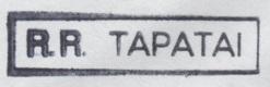 * TAPATAI (1981/1992) * 87-0310