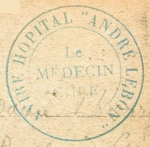 * ANDRÉ LEBON (1916/1918 et 1939/1942) * 87213410