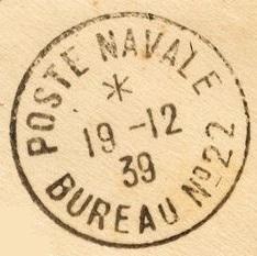 Bureau Naval N° 22 d'Alger 87213512