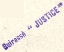 * JUSTICE (1907/1921) * 87289310