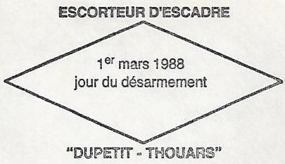 * DUPETIT-THOUARS (1956/1988) * 88-0313