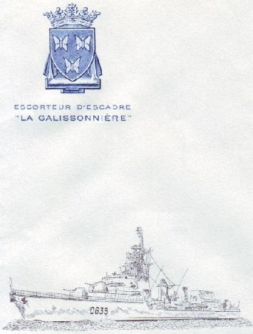 * LA GALISSONNIERE (1962/1990) * 88-0715