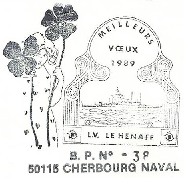 * LIEUTENANT DE VAISSEAU LE HÉNAFF (1980/....) * 89-0110