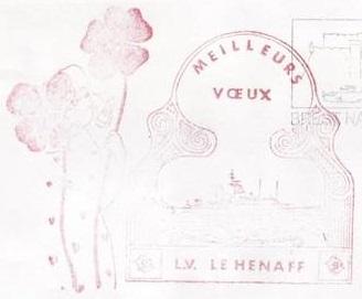 * LIEUTENANT DE VAISSEAU LE HÉNAFF (1980/....) * 89-01_10
