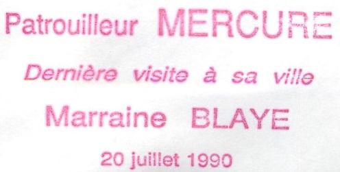 * MERCURE (1958/1991) * 90-0711