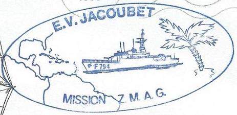 * ENSEIGNE DE VAISSEAU JACOUBET (1982/....) * 90-1010