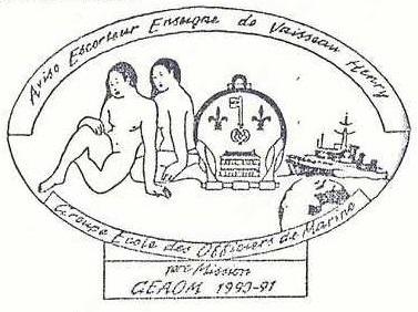 * ENSEIGNE DE VAISSEAU HENRY (1965/1994) * 90-1210