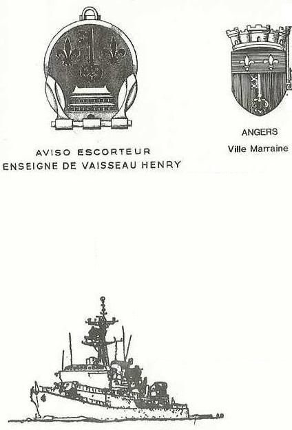 * ENSEIGNE DE VAISSEAU HENRY (1965/1994) * 90-12_10