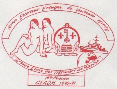 * ENSEIGNE DE VAISSEAU HENRY (1965/1994) * 91-0312