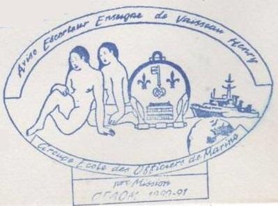 * ENSEIGNE DE VAISSEAU HENRY (1965/1994) * 91-0610