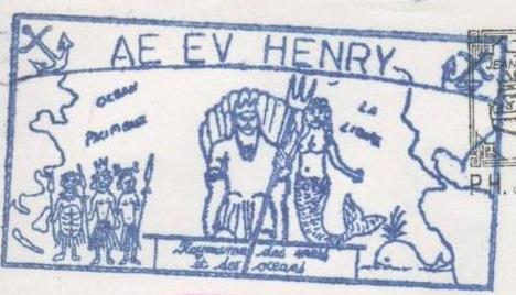 * ENSEIGNE DE VAISSEAU HENRY (1965/1994) * 91-06_11