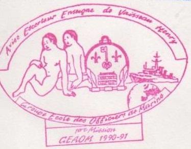 * ENSEIGNE DE VAISSEAU HENRY (1965/1994) * 91-06_12